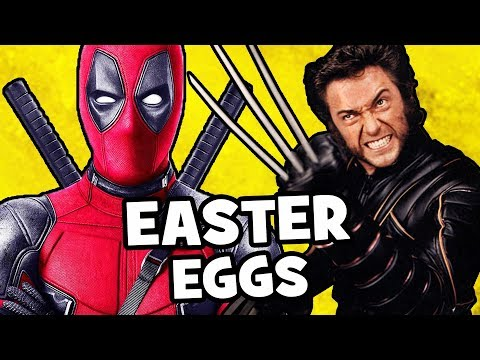TOP 100 Deadpool 2 EASTER EGGS & Secret Cameos