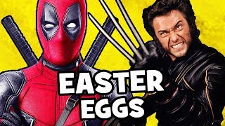Deadpool 2 EASTER EGGS & Secret Cameos - X-Men, X-Force, Marvel, Disney, Star Wars