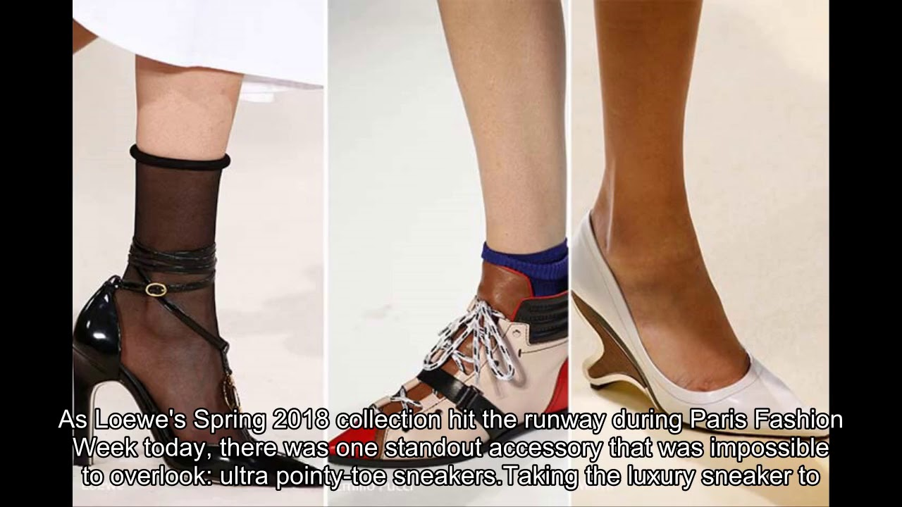 Are Pointy-Toe Sneakers The Next Footwear Trend