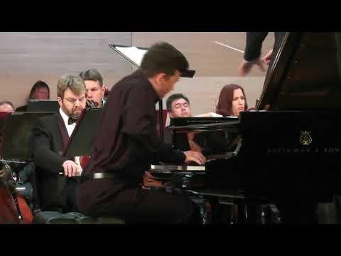 """15.09.2017 Timofey Vladimirov at """"Vladimir Spivakov Invites"""" Festival in Ufa, Russia"""