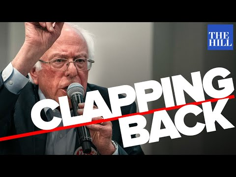 Panel: Bernie claps back at the media