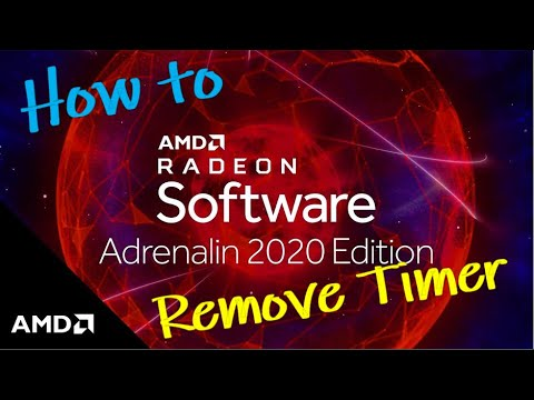 How To Turn Off / Disable Relive Recording Timer Indicator - AMD Radeon Adrenalin 2020 Edition