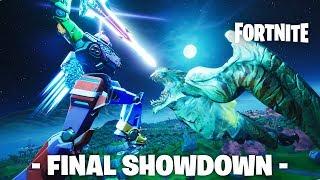 FINAL SHOWDOWN - Singularity Mecha VS Polar Peak Monster | Fortnite Live Event