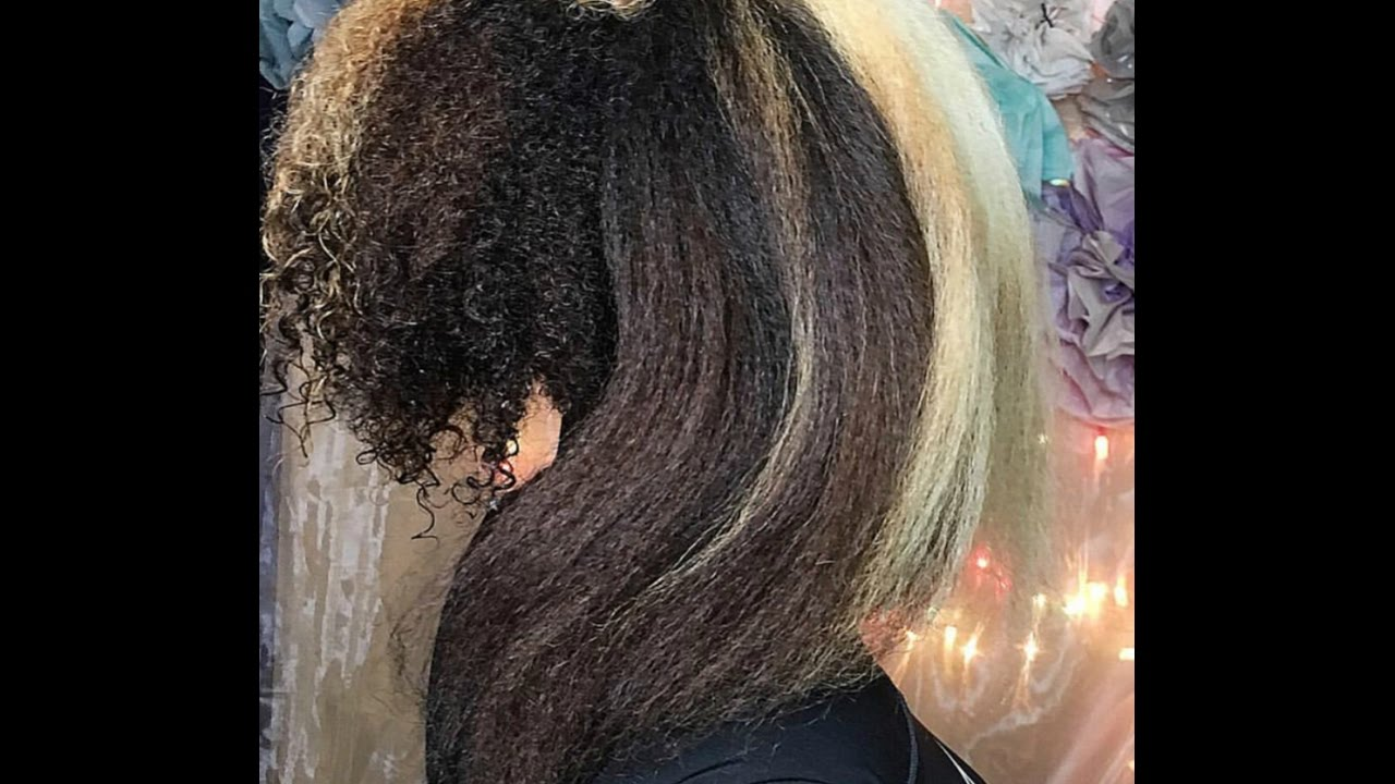 Straight perm bleached hair - How To Safely Straighten Bleached Hair