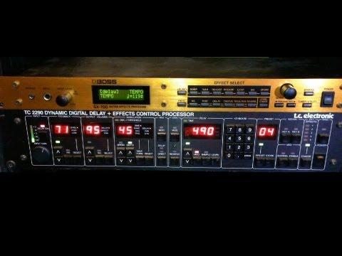 Boss GX-700 vs TC Electronic 2290