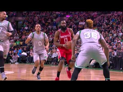 James Harden And Isaiah Thomas Duel In Boston
