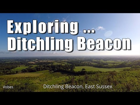 Walks in Sussex: Exploring Ditchling Beacon
