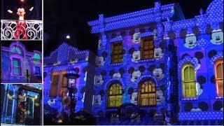 "ºoº HKDL 香港ディズニーランド "" ウィー・ラブ・ミッキー! "" メインストリートUSAのプロジェクションショー  We Love Mickey! Projection Show"
