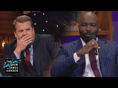 Mike Colter Saves an Octave for the Talk Down