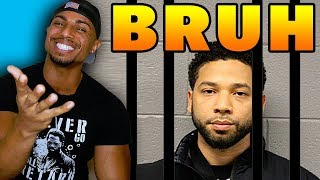 Jussie Smollett DESTROYS Jussie Smollett with Hoax