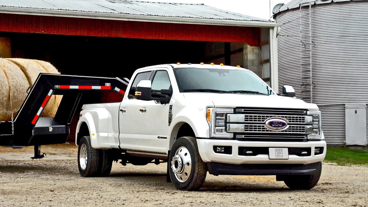 New 2017 Ford F 450 Super Duty Footage Youtube