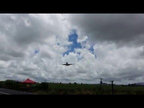 Air Seychelles A330-200 Landing in Mauritius.