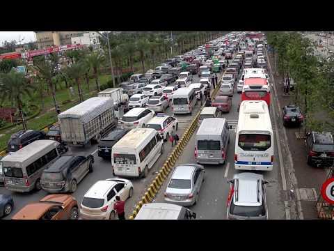 Cảnh tắc đường ở Hà NỘi - Mỗi người ý thức một chút đâu tắc đường vài km như này