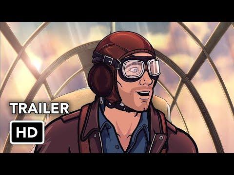 Archer Season 9 Trailer (HD) Archer: Danger Island