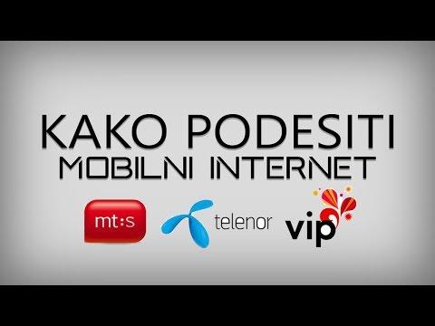 AT - Ručno Podešavanje Mobilnog Interneta