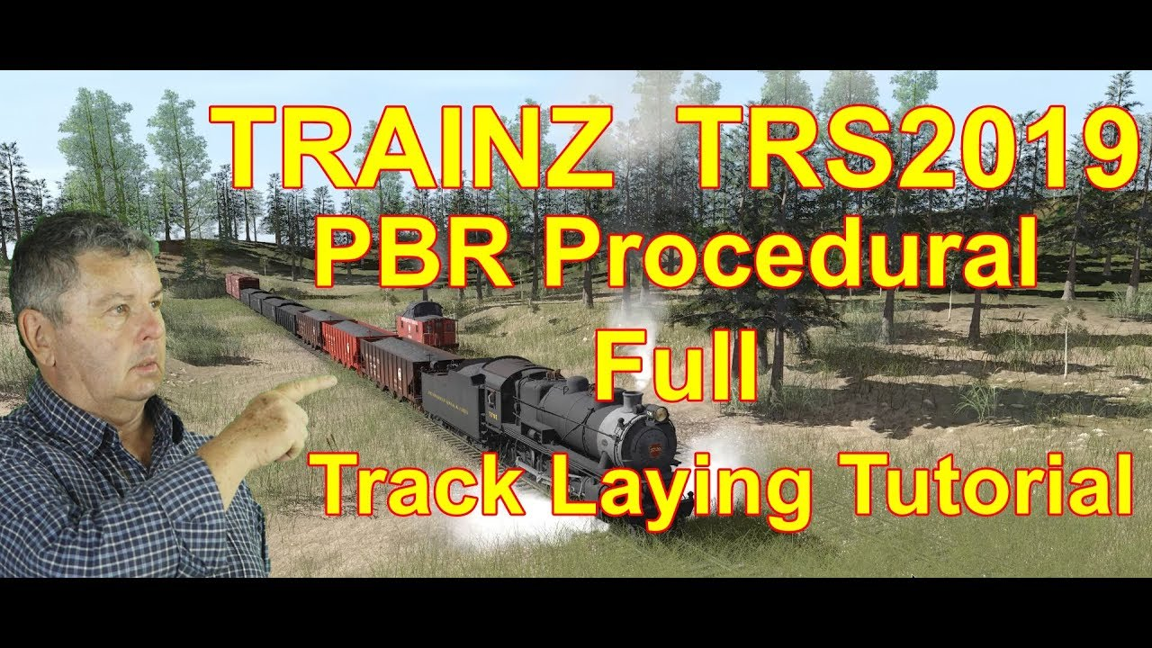 TRAINZ Railroad Simulator 2019 Route Building Part 1