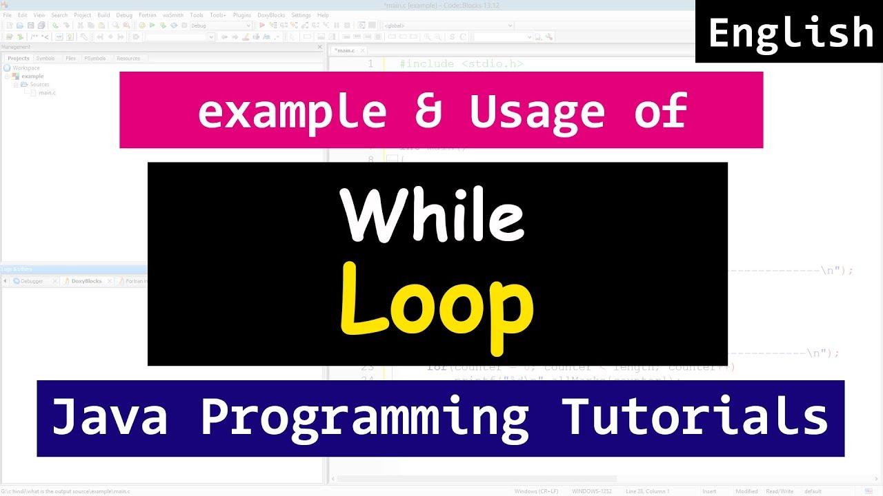 Looping with while loop java programming video tutorial for looping with while loop java programming video tutorial for beginners baditri Gallery