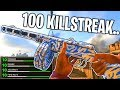 100 KILLS in 1 LIFE on Call of Duty WW2.. (100 KILLSTREAK V2 ROCKET) BEST PPSH CLASS in COD WW2!