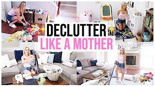 ULTIMATE CLEAN WITH ME 2019 | COMPLETE DISASTER DECLUTTER WITH ME | Brianna K