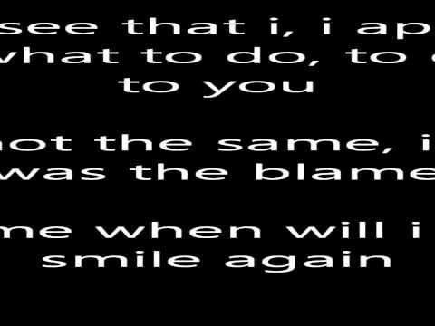 Bel Biv Devoe When will i see you smile again wlyrics on screen