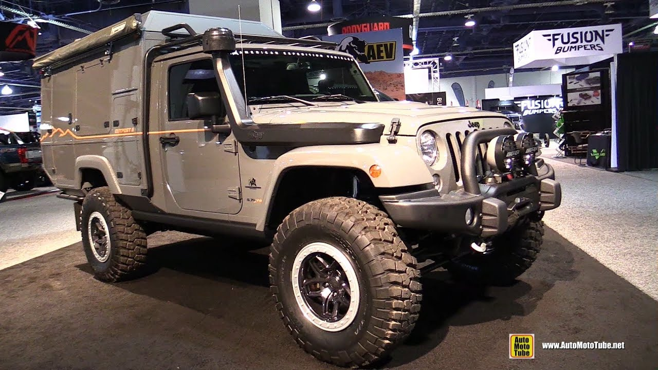 2017 Jeep Wrangler Outpost II equipped by AEV American Expedition Vehicles  - Walkaround - 2017 SEMA
