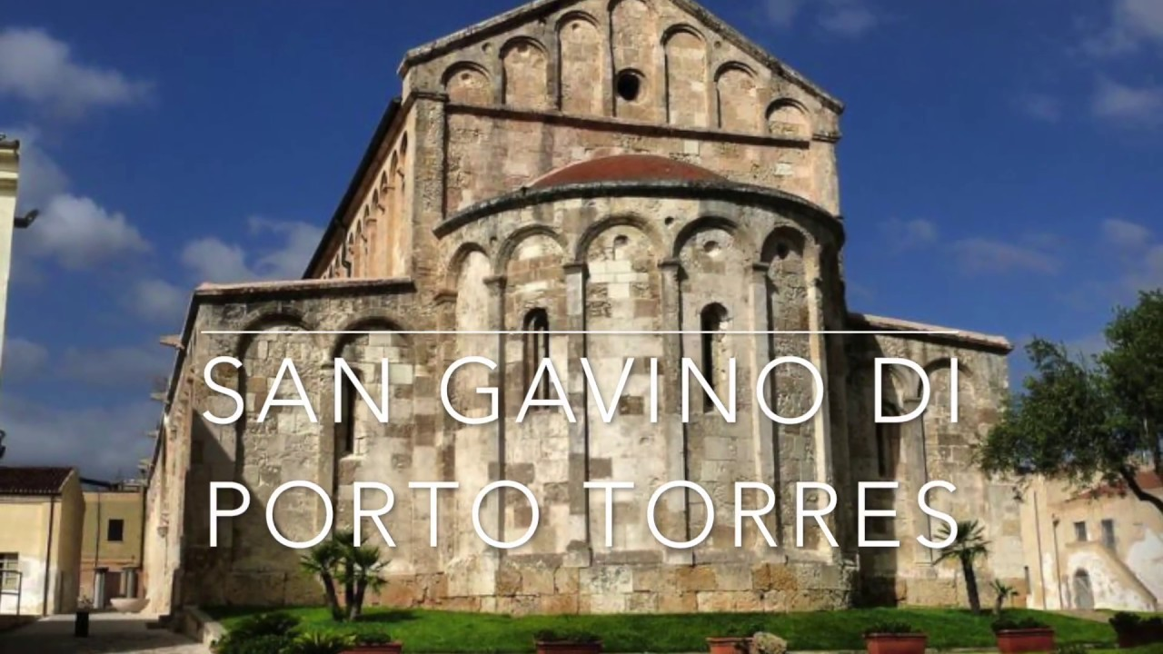 La Basilica Di San Gavino A Porto Torres