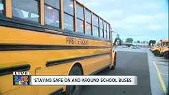 Learning how to drive First Student school bus