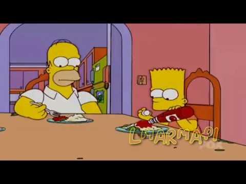 Bart pasa la catsup