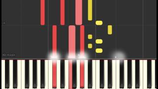Olly Murs - Grow Up (Piano sheet & Synthesia)