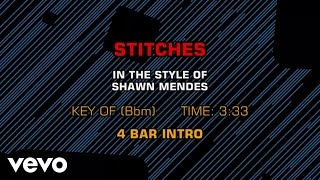 Shawn Mendes - Stitches (Karaoke)