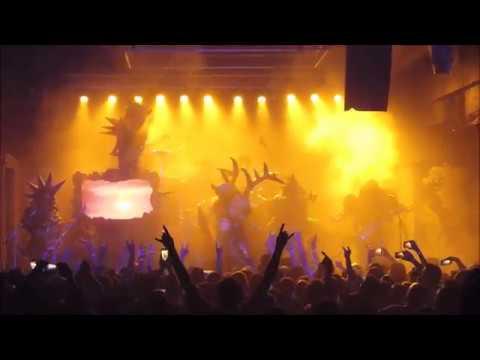 Metalgods interview with Pustulus Maximus of Gwar and concert beginning