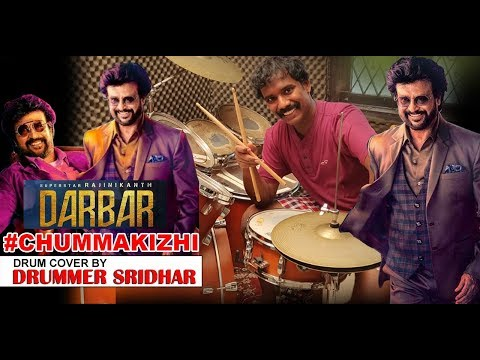 Darbar Chumma Kizhi  Drum Cover  Rajinikanth . Murugadoss  Anirudh  First Single Track