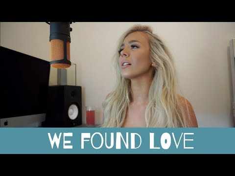 We Found Love - Rihanna   Acoustic Cover