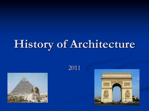 Lecture 03 - Egyptian Architecture P