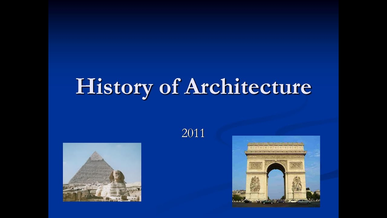 Lecture 03 Egyptian Architecture P