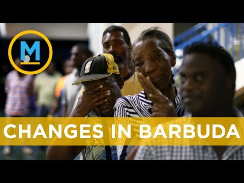 Rebuilding Barbuda after Hurricane Irma devastation | Your M