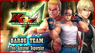 【TAS】KOF MAXIMUM IMPACT REGULATION A - ULTIMATE GAROU TEAM (TERRY-ROCK & GEESE)