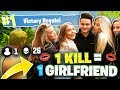 I Gave My Little Brother A NEW GIRLFRIEND For Winning Fortnite