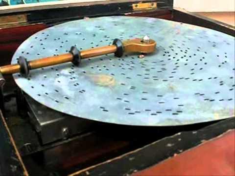 Polyphon, boite à musique, music box, polyphon spieluhr