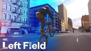 NYC Bike Crew Gains Instagram Fame with Crazy Street Tricks | NBC Left Field