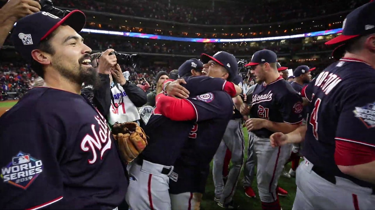 Washington Nationals' final 2019 World Series out raw video from field!