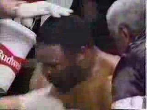 Bert Cooper vs Michael Moorer Part 2/3 SLUGFEST!