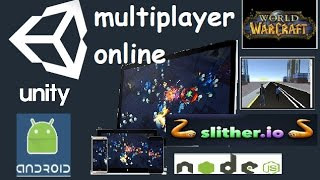 دروس الوحدة 3D (2019) - #2 - متعددة لعبة على الانترنت مرحبا العالم (Pt-Br)