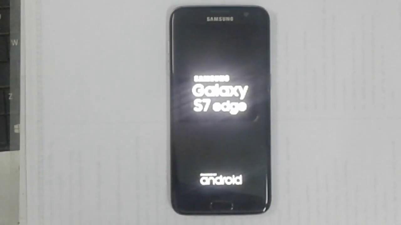 Mobile Info: Samsung Galaxy S7 Reset