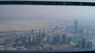 From bottom to top of Burj Khalifa, Dubai