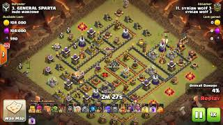 Syrian Wolf 3 VS IndoWarzone | Clear Th11 Bases💪❤