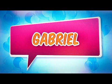 Joyeux anniversaire Gabriel