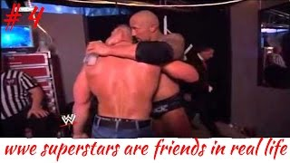 WWE SUPERSTARS ARE FRIENDS IN REAL LIFE part 4