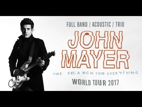 John Mayer Live, Wantagh, New York, Jones Beach Theater 2017 Tour