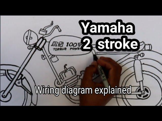 Yamaha 2 Stroke Wiring Diagram Explained Youtube